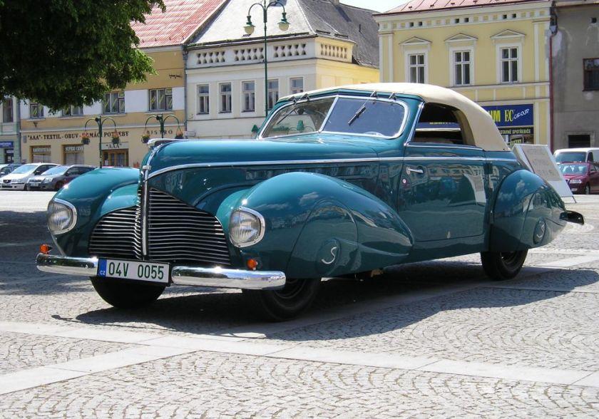 1940 Aero 50 Dynamik Sodomka, Čechy