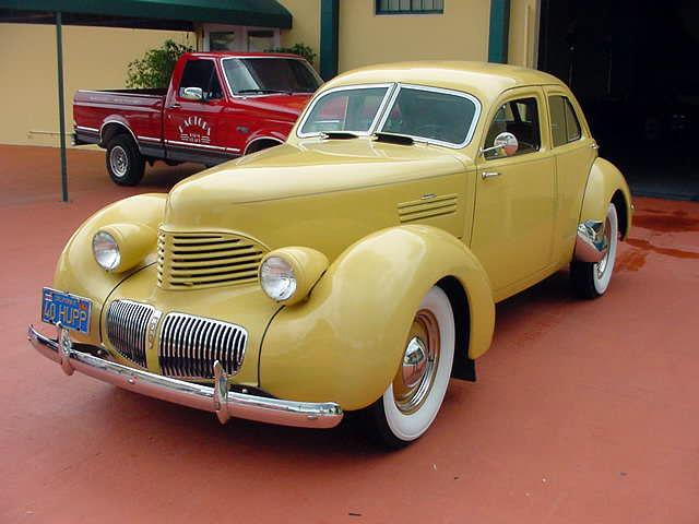 1940 Hupmobile Skylark R-015, 4-door sedan