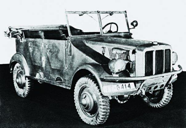 1941 Adler V40T, 4x4