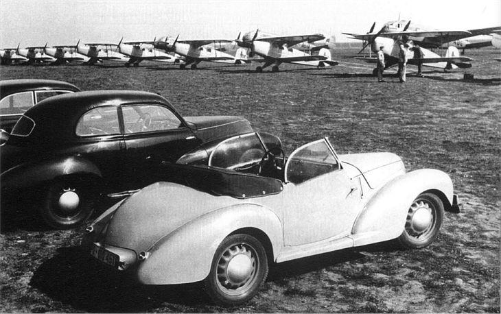 1941 Aero P 750 Pony, Čechy a