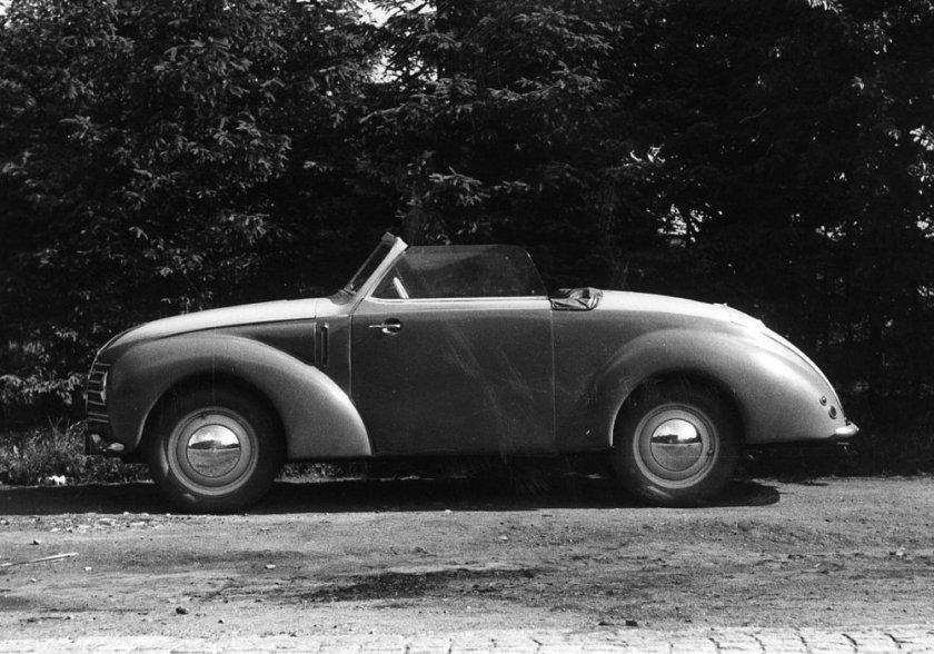 1946 Aero Minor II Roadster, Československo (1946-1951) a