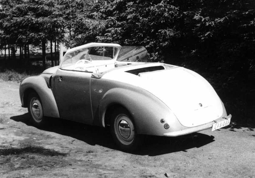 1946 Aero Minor II Roadster, Československo (1946-1951) b