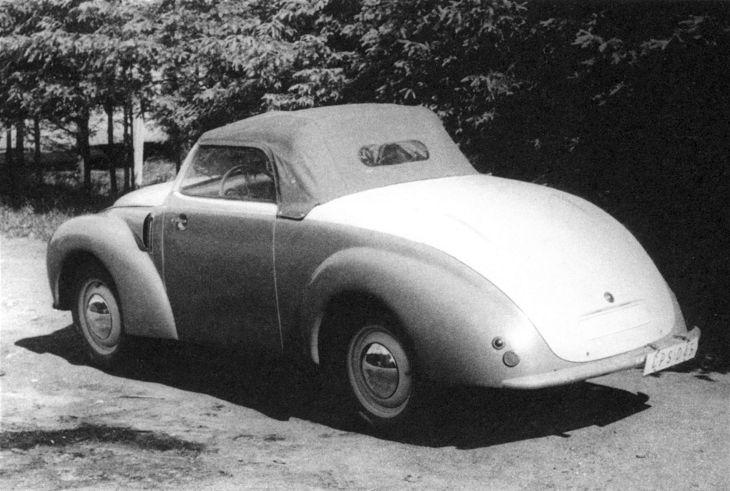 1946 Aero Minor II Roadster, Československo (1946-1951) d