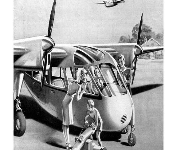 1946 Portsmouth Aerocar Major c