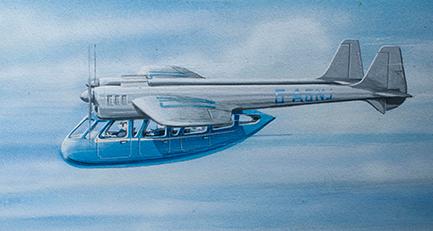 1946 Portsmouth's Aerocar Portsmouth's Aerocar