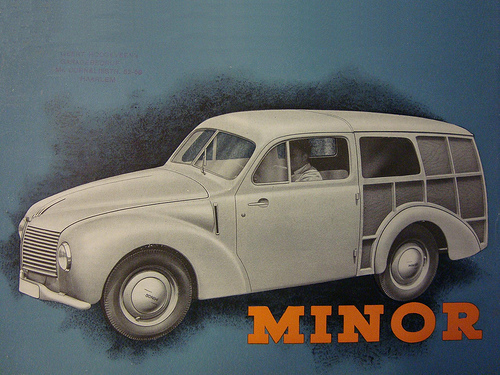 1947 aero kombi minor