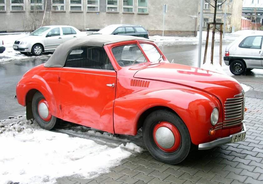 1947 Aero Minor II Roadster Sodomka, Československo (1946-1951) a