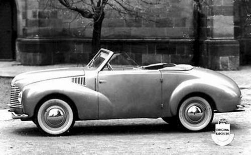 1947 Aero Minor II Roadster Sodomka, Československo (1946-1951) b
