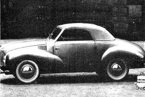 1947 Aero Minor II Roadster Sodomka, Československo (1946-1951) c