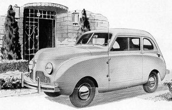 1947 Crossley cc sedan