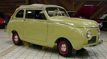 1947 Crossley sedan-convert
