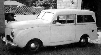 1947 Crossley station wagon