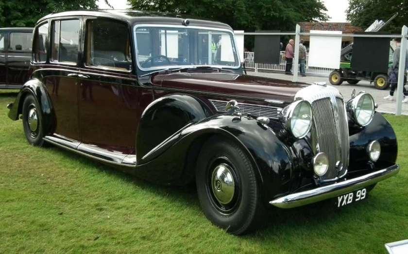 1947 Daimler Straight-Eight Limousine Landaulette