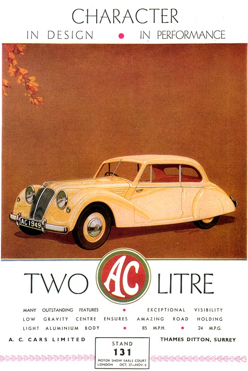 1948 AC '49 advert