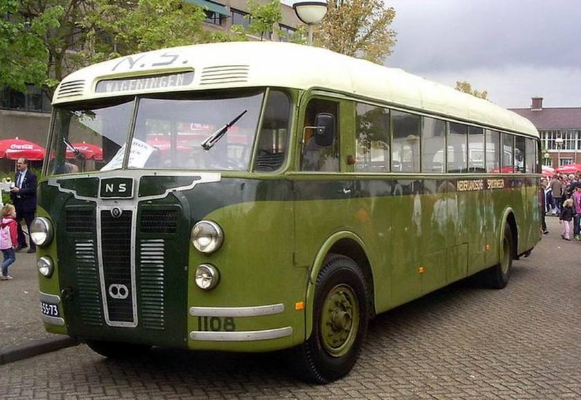 1948 Bussen Crossley 1948 Nederland
