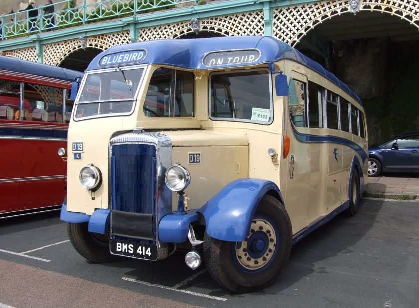 1948 Daimler CVD6 coach Halfcab bus