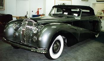 1948 Daimler hooper cabrio