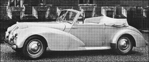 1949 AC Drophead Coupé