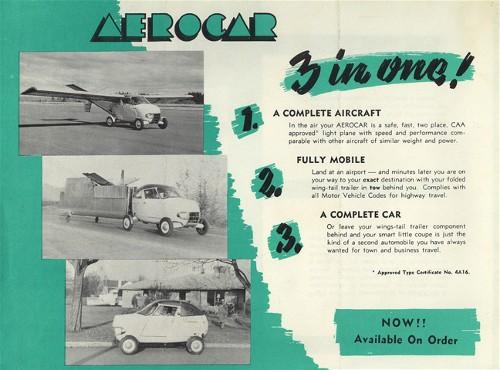 1949 AERO Car a