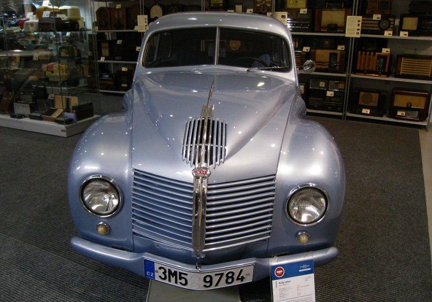 1949 Aero Minor II, Československo (1946-1951) f