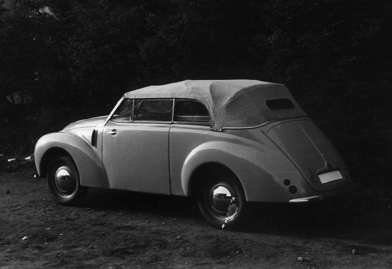 1949 Aero Minor II Cabriolet, Československo (1946-1951) a