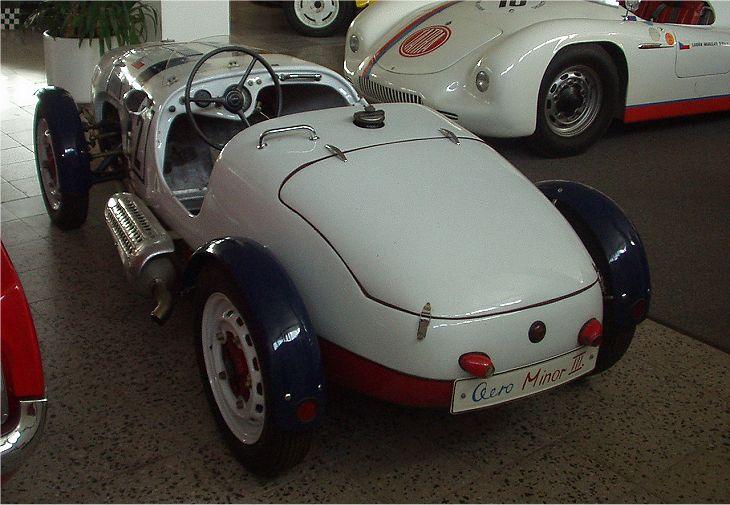 1949 Aero Minor III Le Mans, Československo 1949