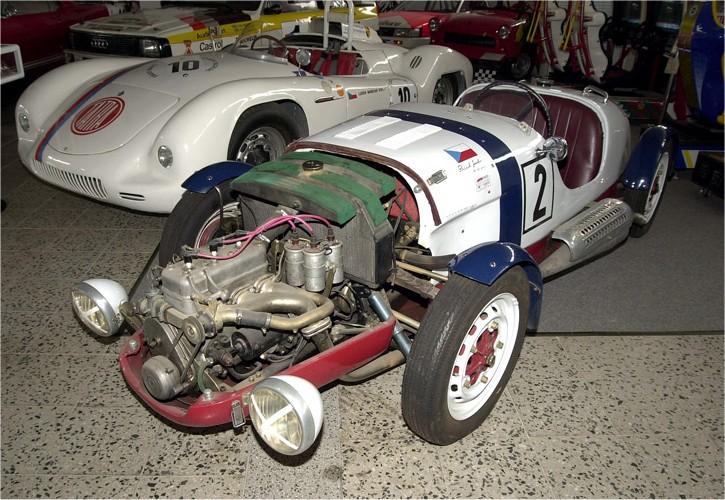 1949 Aero Minor III Le Mans, Československo 4
