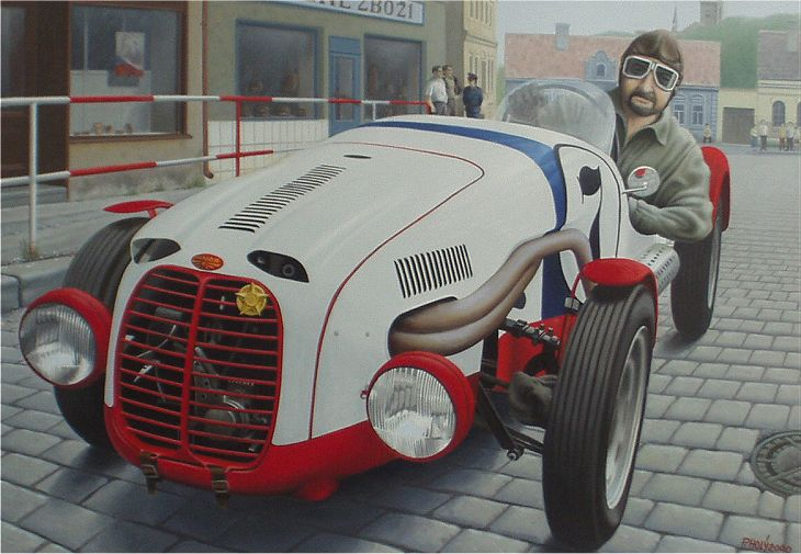 1949 Aero Minor Sport, Československo