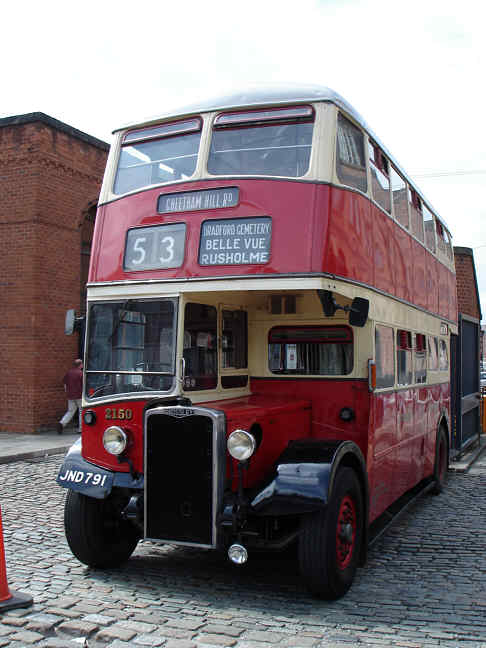 1949 Crossley DD42 ex Manchester City Transport