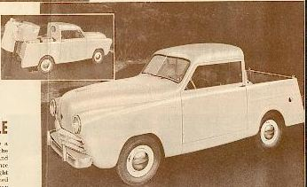 1949 Crossley p-u