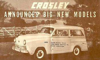1949 Crossley station wagon