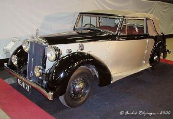 1949 Daimler DB 18 Drophead Coupe