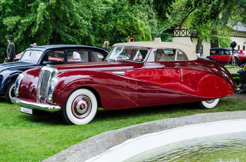 1949 Daimler DE 36 -Green Goddess-, Hooper limousine