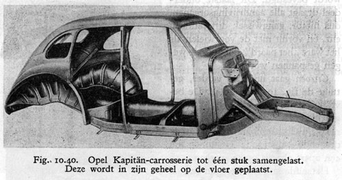 1949 Opel kaptein -chassis01