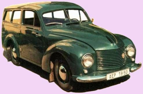 1950 Aero Minor II STW, Československo (1946-1951) c