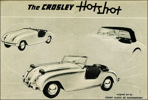 1950 Crossley roadster