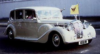 1950 Daimler de 36 straight 8 limousine-king thailand-max-