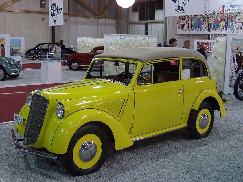 1950 Opel olympia cabriolet coach