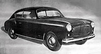 1951 Accossato Fiat 1400 berlina a