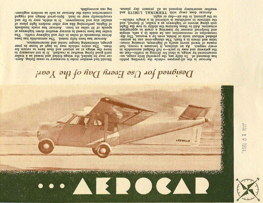 1951 Aero Car p1
