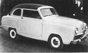 1951 Crossley sedan