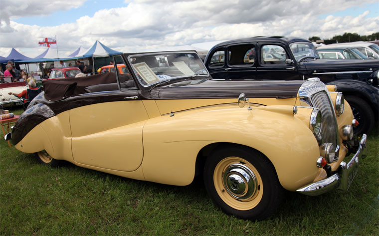 1951 Daimler DB18 Barker Sports
