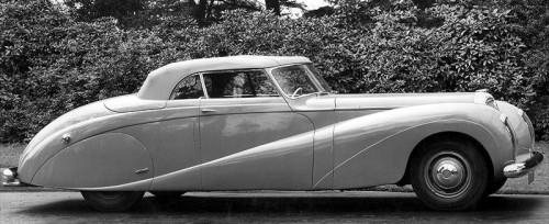 1951 Daimler de 36 cabrio