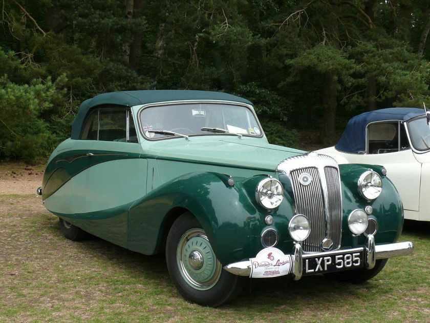 1951 DB18 with Hooper Empress drophead coupé body