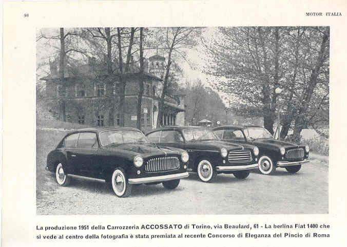 1951 Fiat-1400-Accossato-Ad-Italy