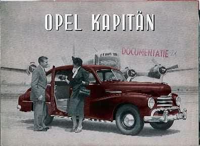 1951 opel kapitän