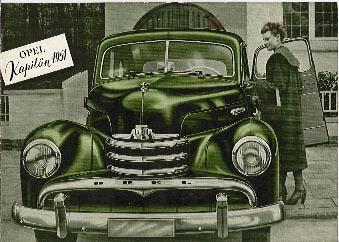 1951 opel kaptein-a