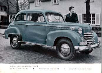 1951 opel olympia-a