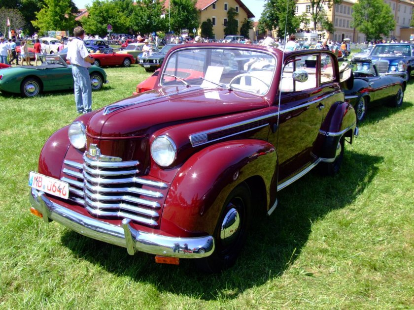 1951 Opel Olympia Cabrio