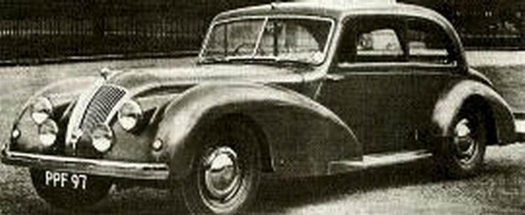 1952 AC 2-Litre Saloon